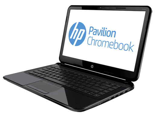 HP Pavilion 14 from right