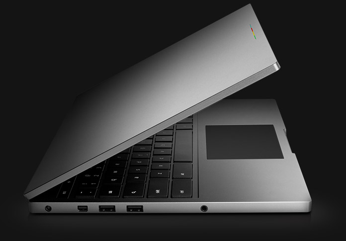 Chromebook Pixel from side